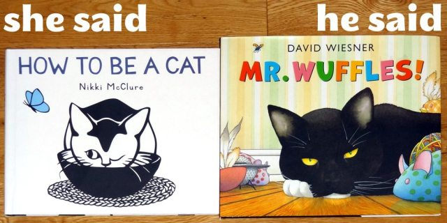 How to Be a Cat, Mr. Wuffles