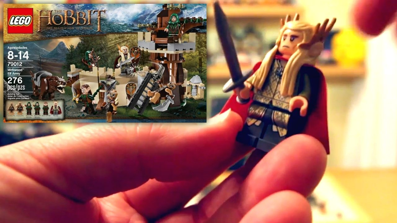LEGO The Hobbit: The Desolation of Smaug Kits 79012 And 70911