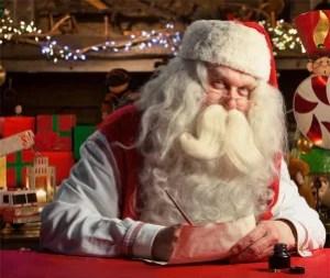 Santa from Portable North Pole!