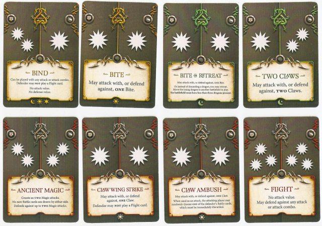 Draco Magi battle cards