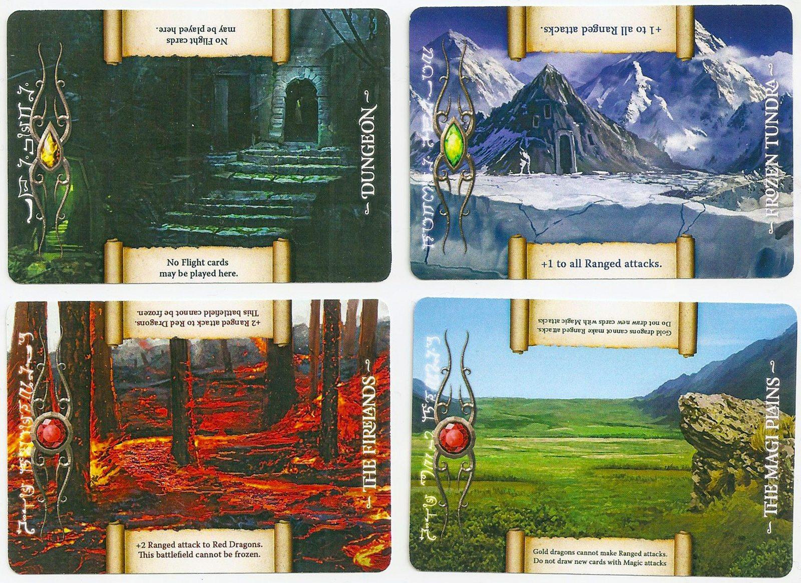 Draco Magi battlefield cards