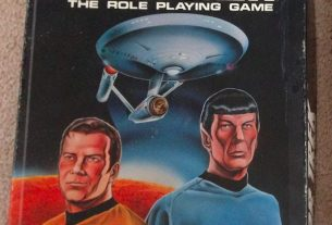 Star Trek RPG 1st Edition Box