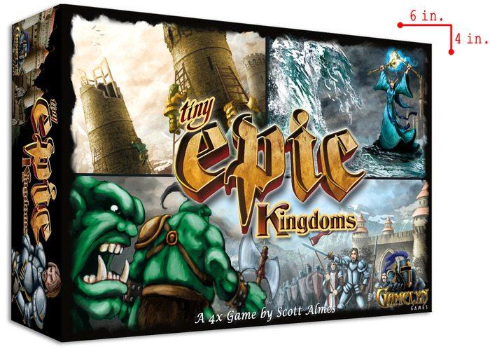 Tiny Epic Kingdoms box