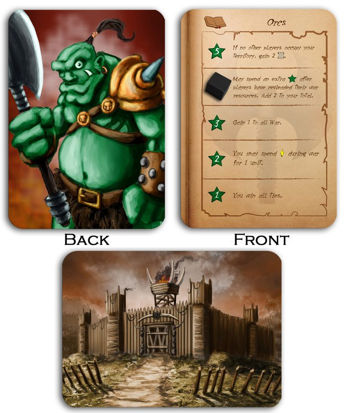 Tiny Epic Kingdoms orcs