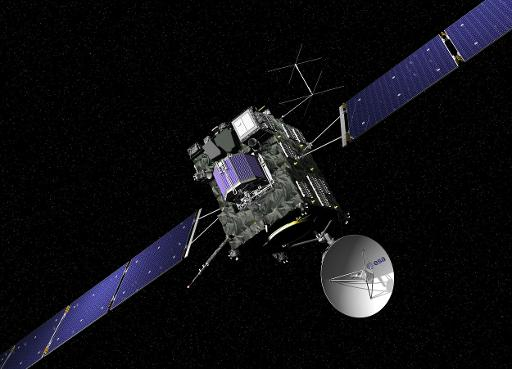 Alarm Call Set to Wake Comet Probe