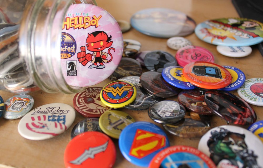 Bust out your buttons and get creative! All images by Lisa Kay Tate