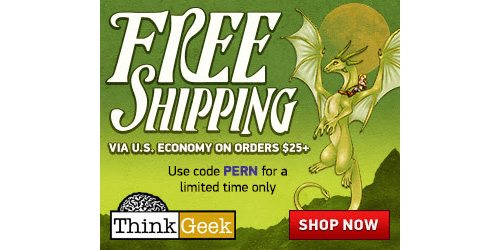 thinkgeek shipping