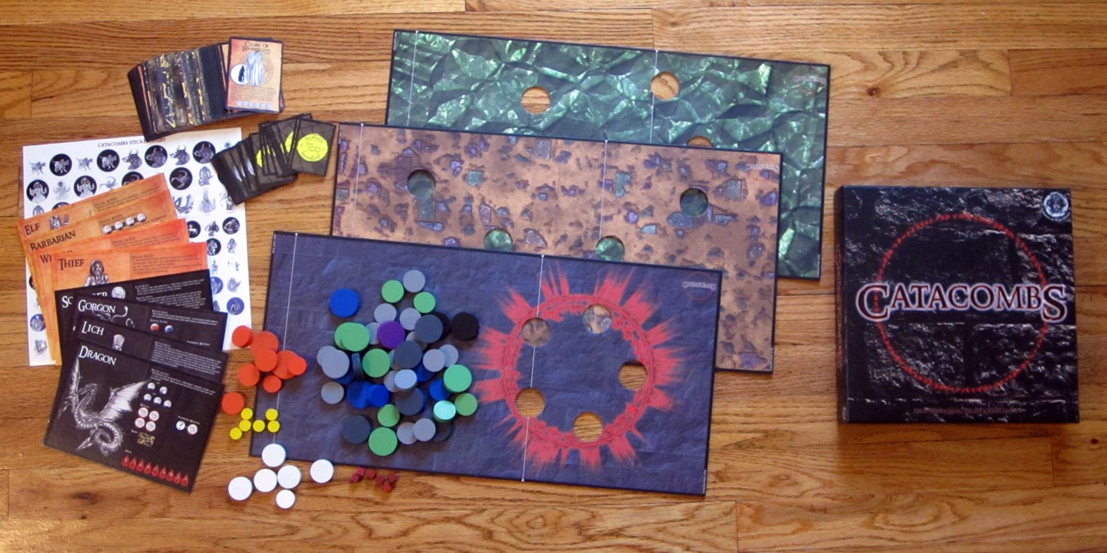 Catacombs components