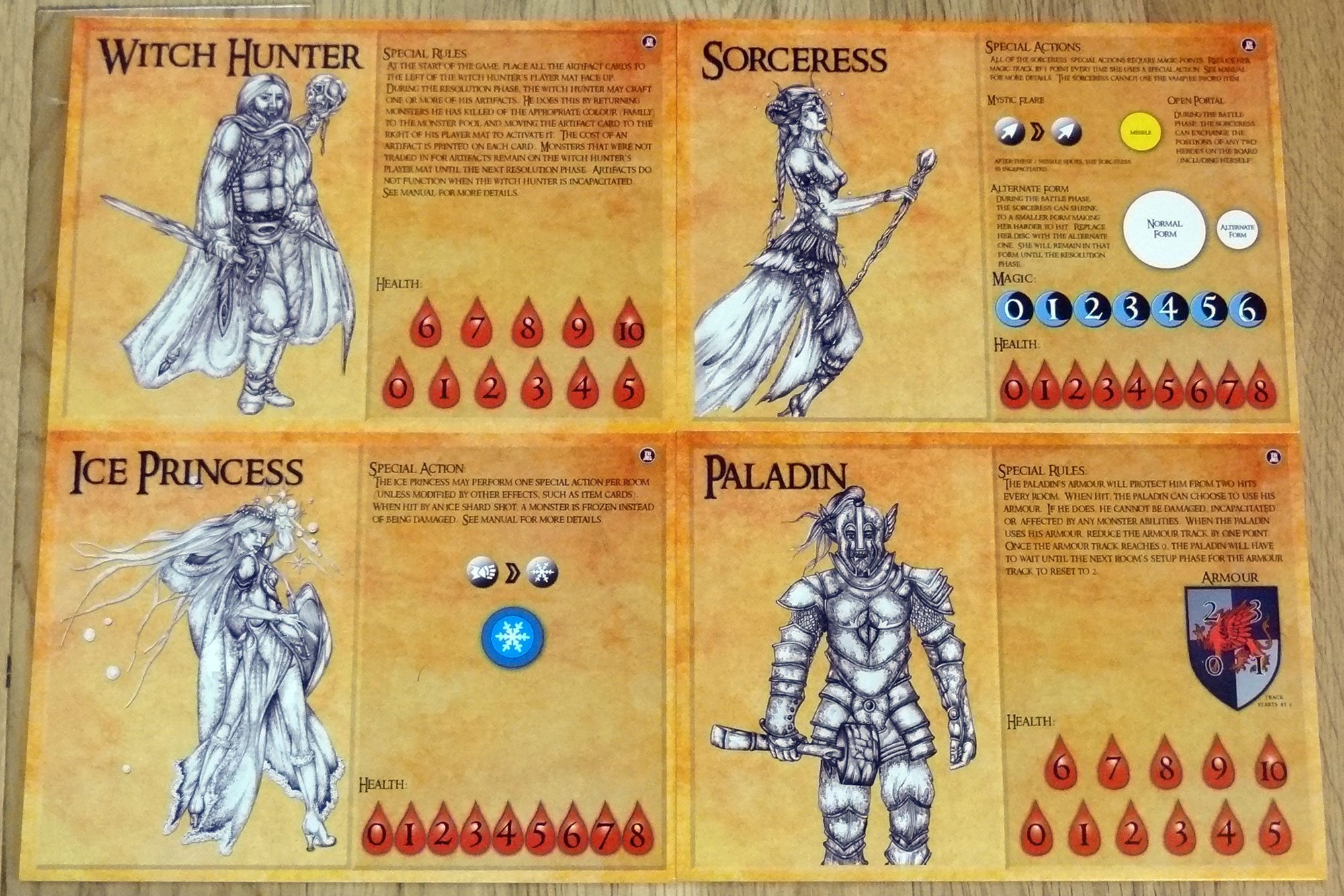 Caverns of Soloth heroes