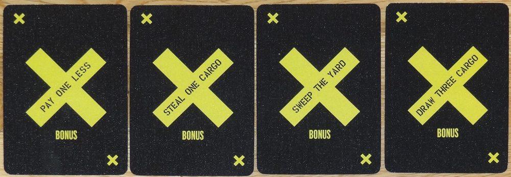Yardmaster Bonus cards