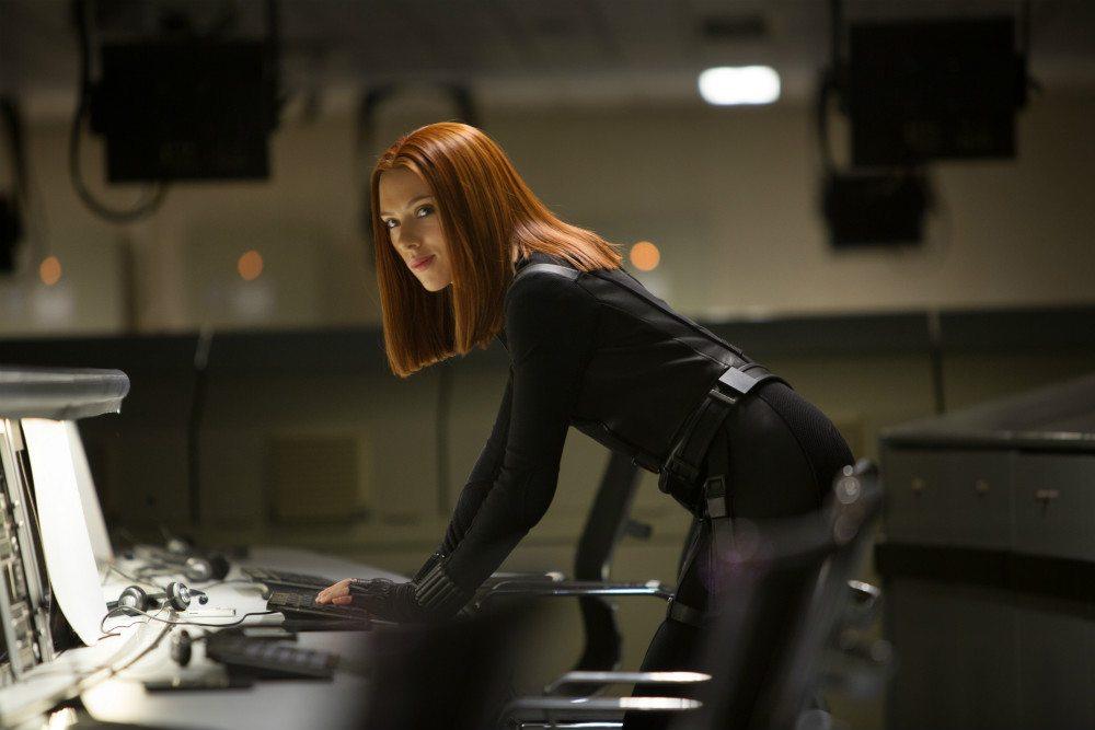 Johannson as Black Widow