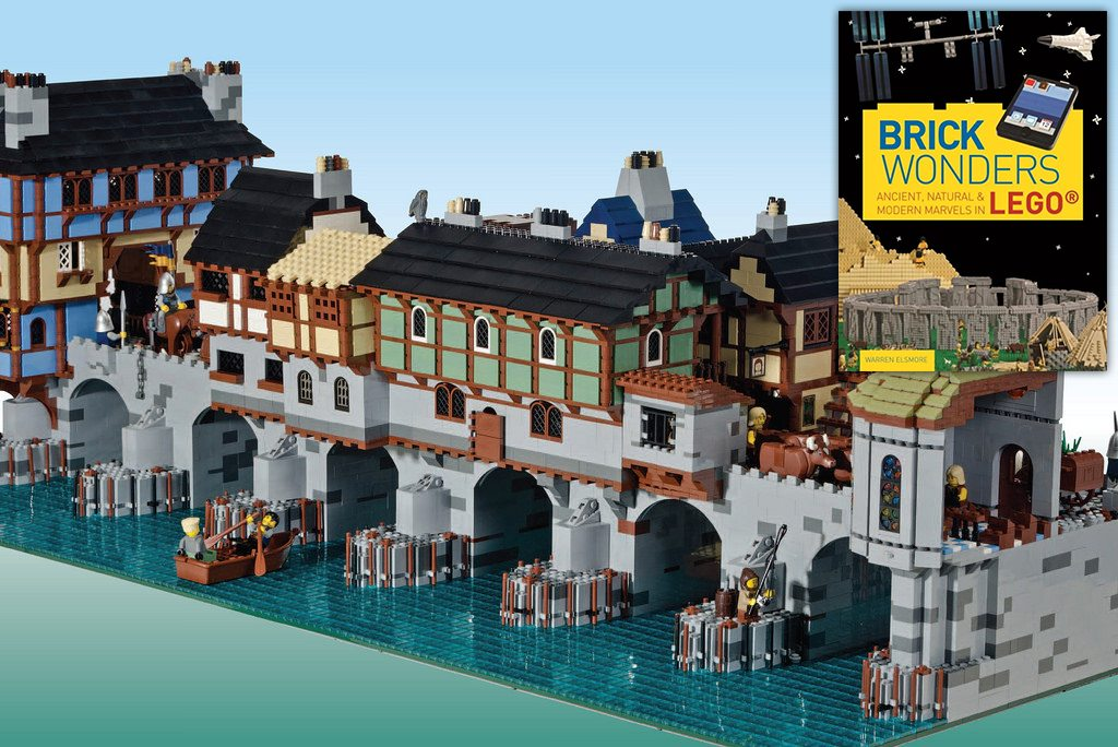 Warren Elsmore Is Back With More Brick Wonders