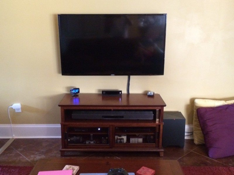 Finished electronics remodel