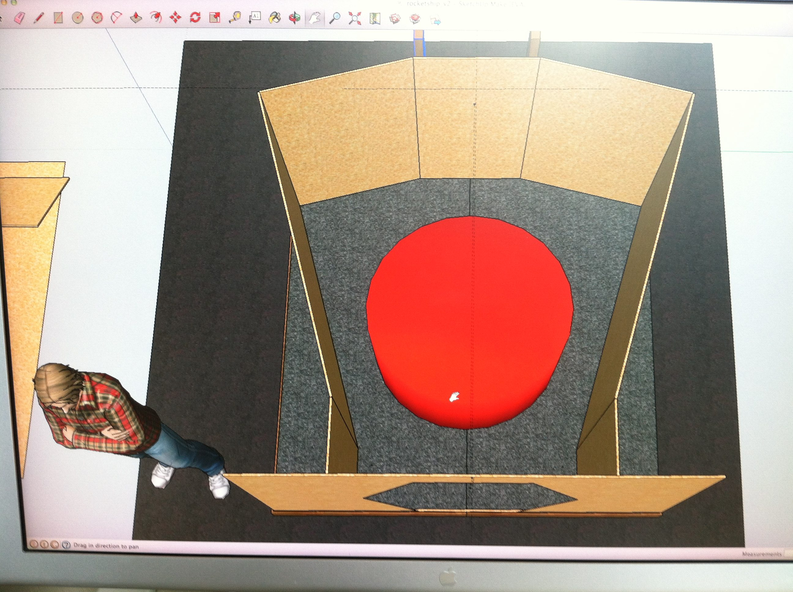 DHW SketchUp model