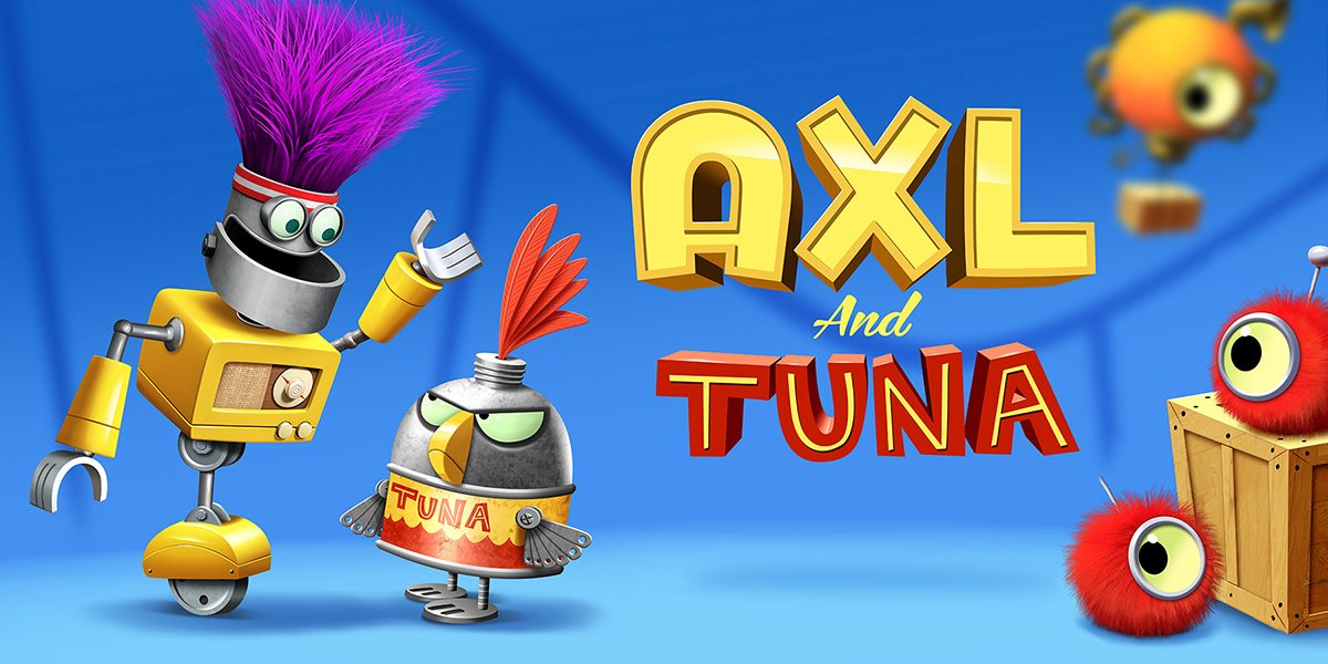 Axl and Tuna from Game Collage