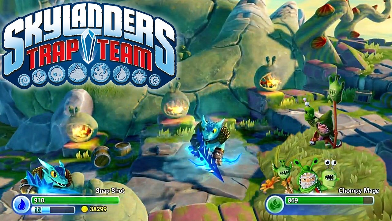 More Skylanders Trap Team Heroes Incoming