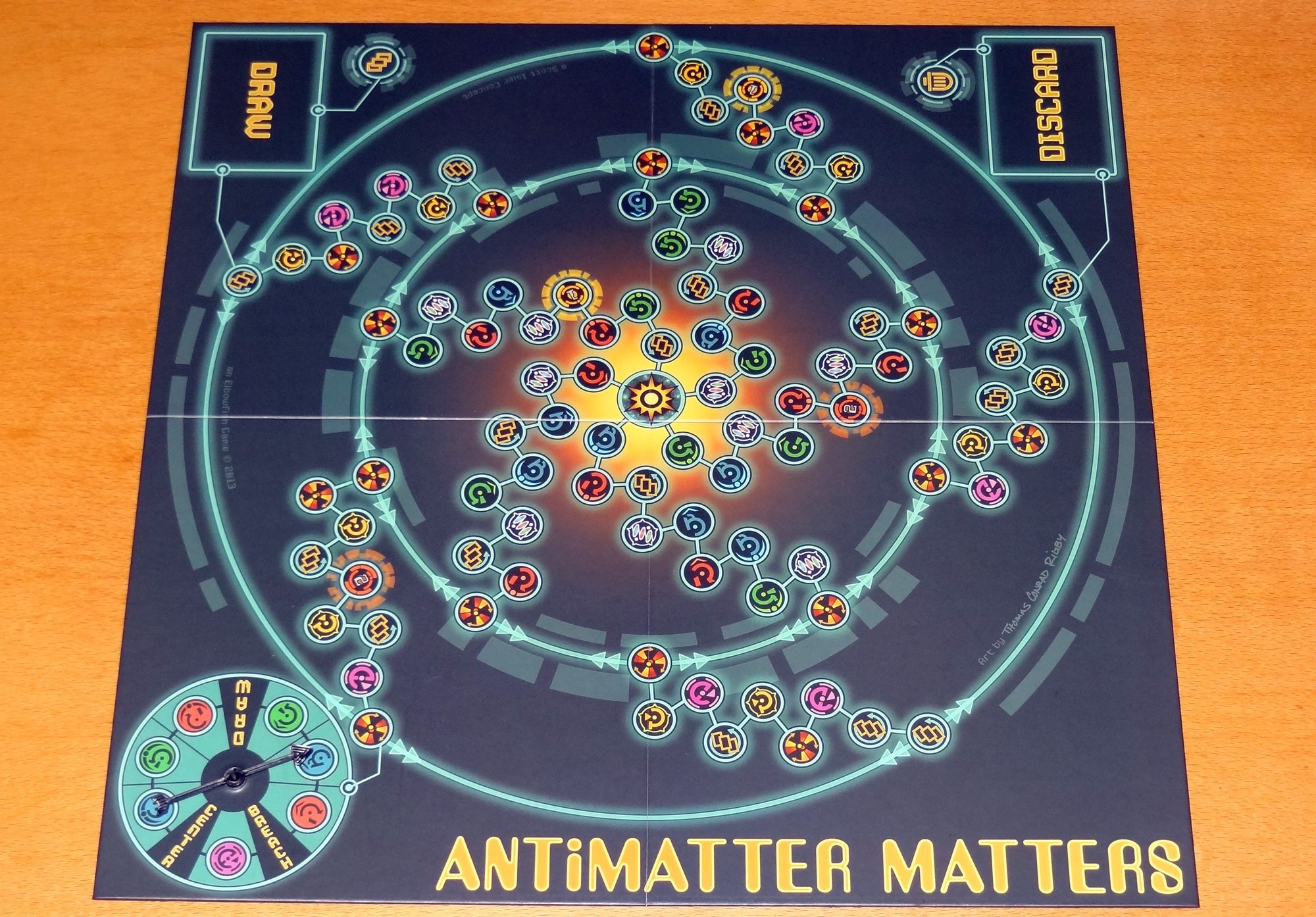 Antimatter Matters board