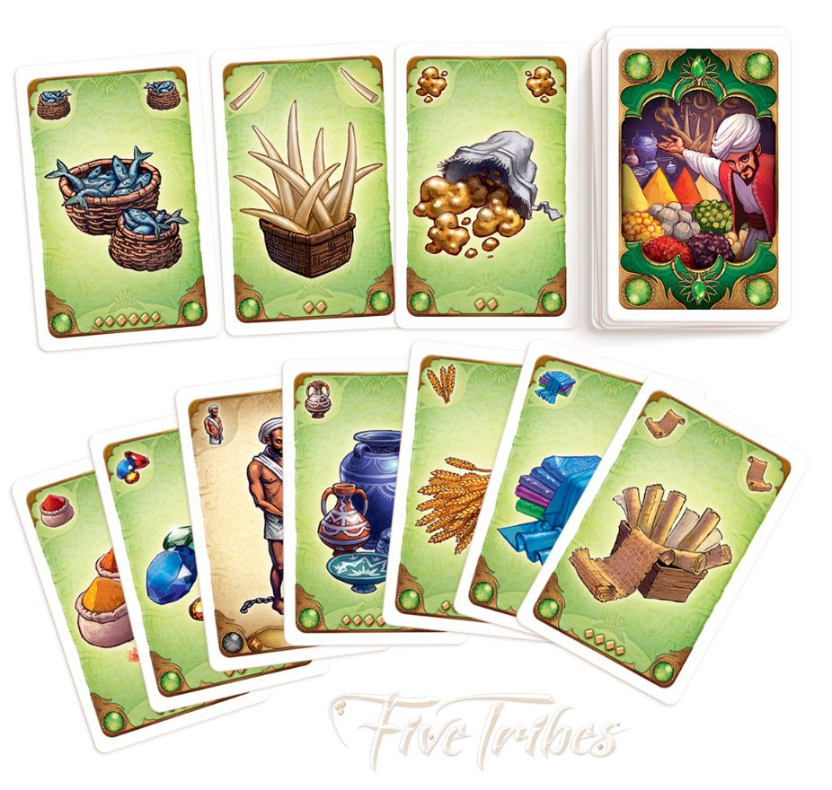 Five Tribes Market cards