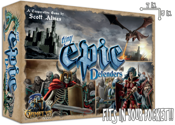 Tiny Epic Defenders - box