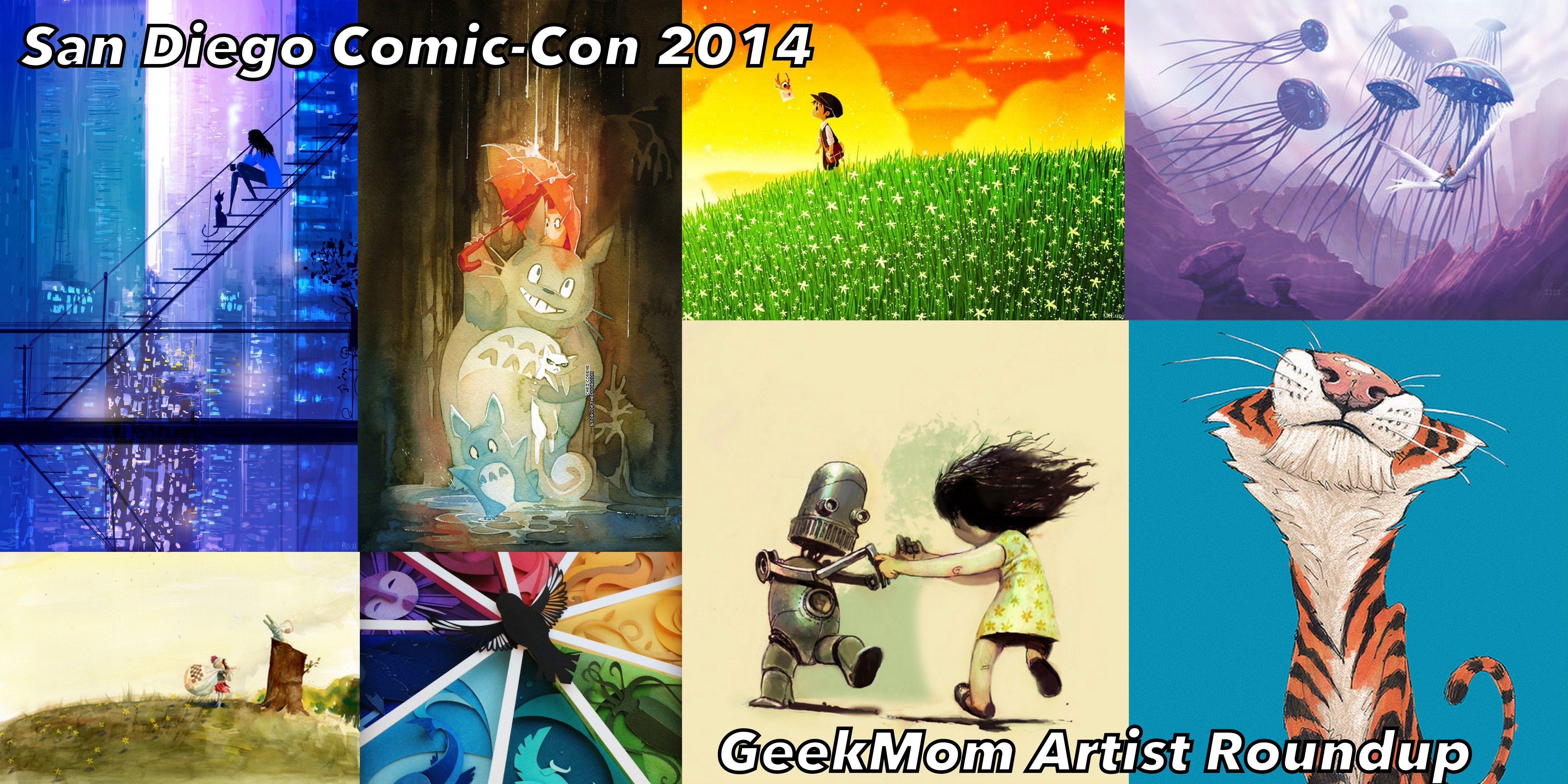 SDCC 2014: GeekMom Artist Roundup. Image credit: Ariane Coffin.