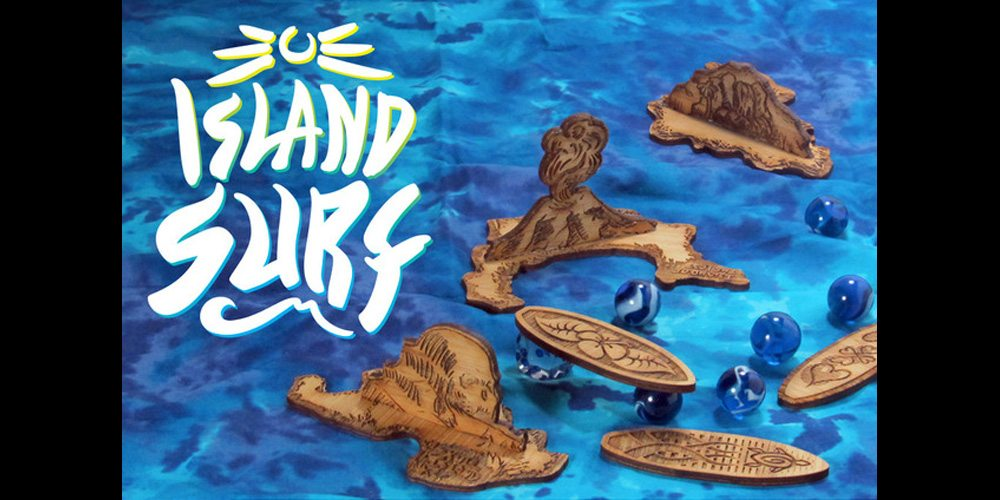 Kickstarter Tabletop Alert: Ride the Waves in Island Surf