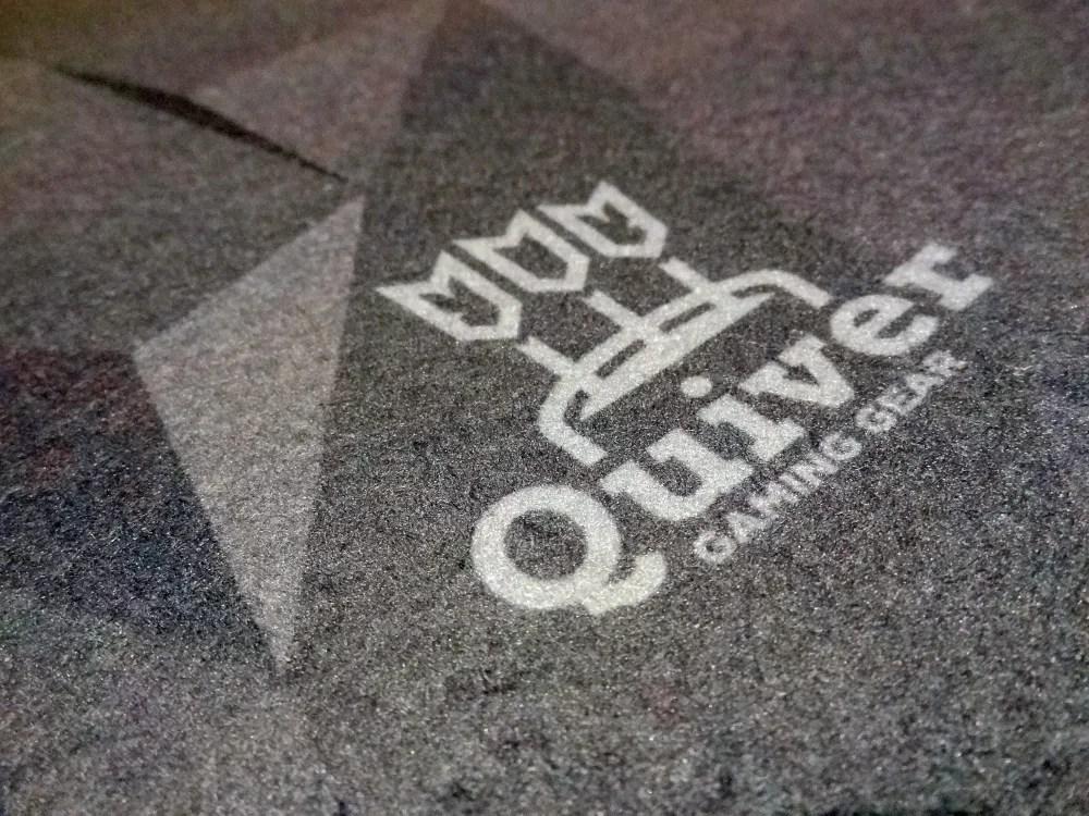 Quiver Gaming Mat closeup