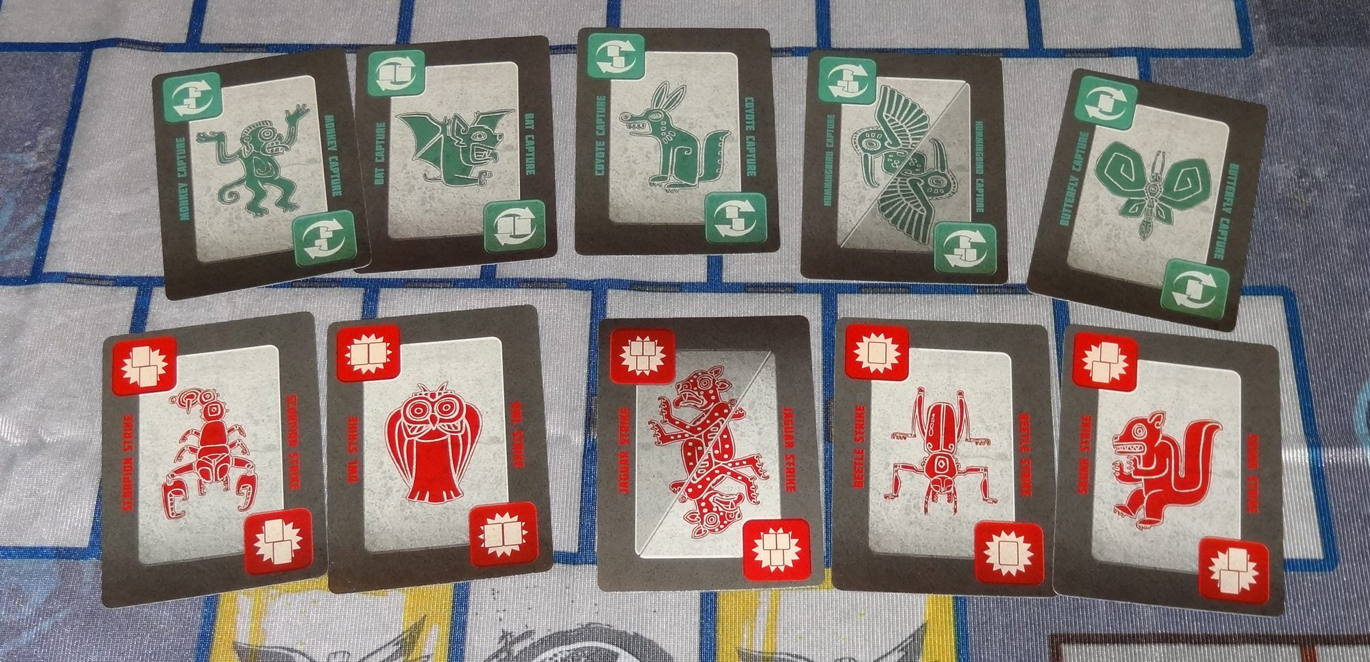Serpent Stones cards