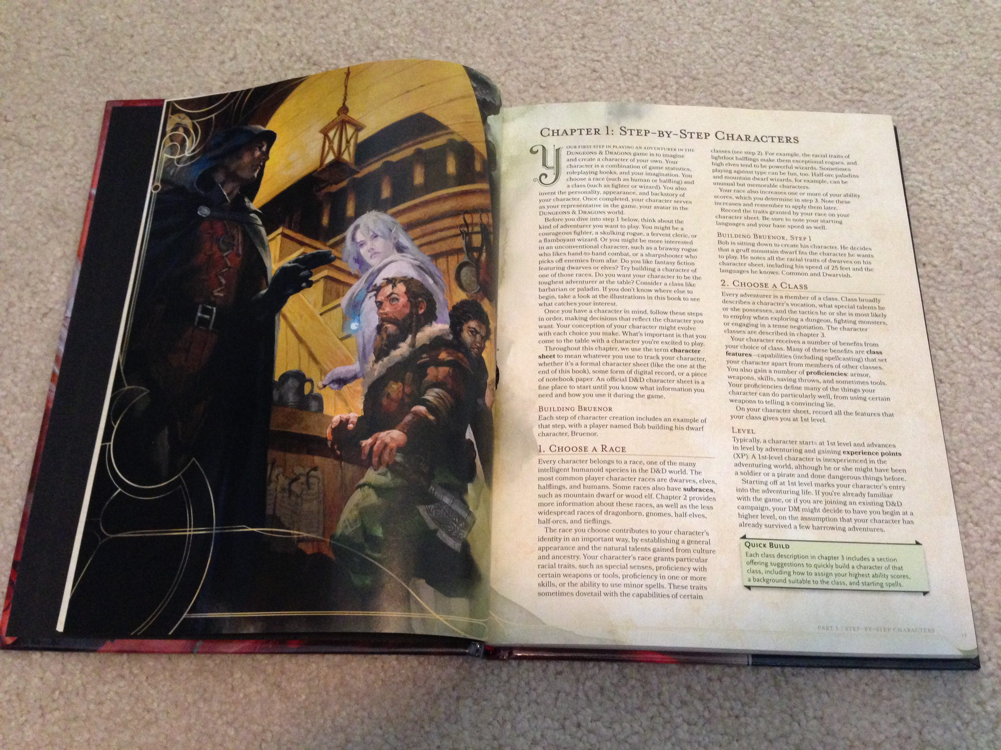 A Tale of Two Handbooks - 1978 AD&D and 2014 D&D - GeekDad