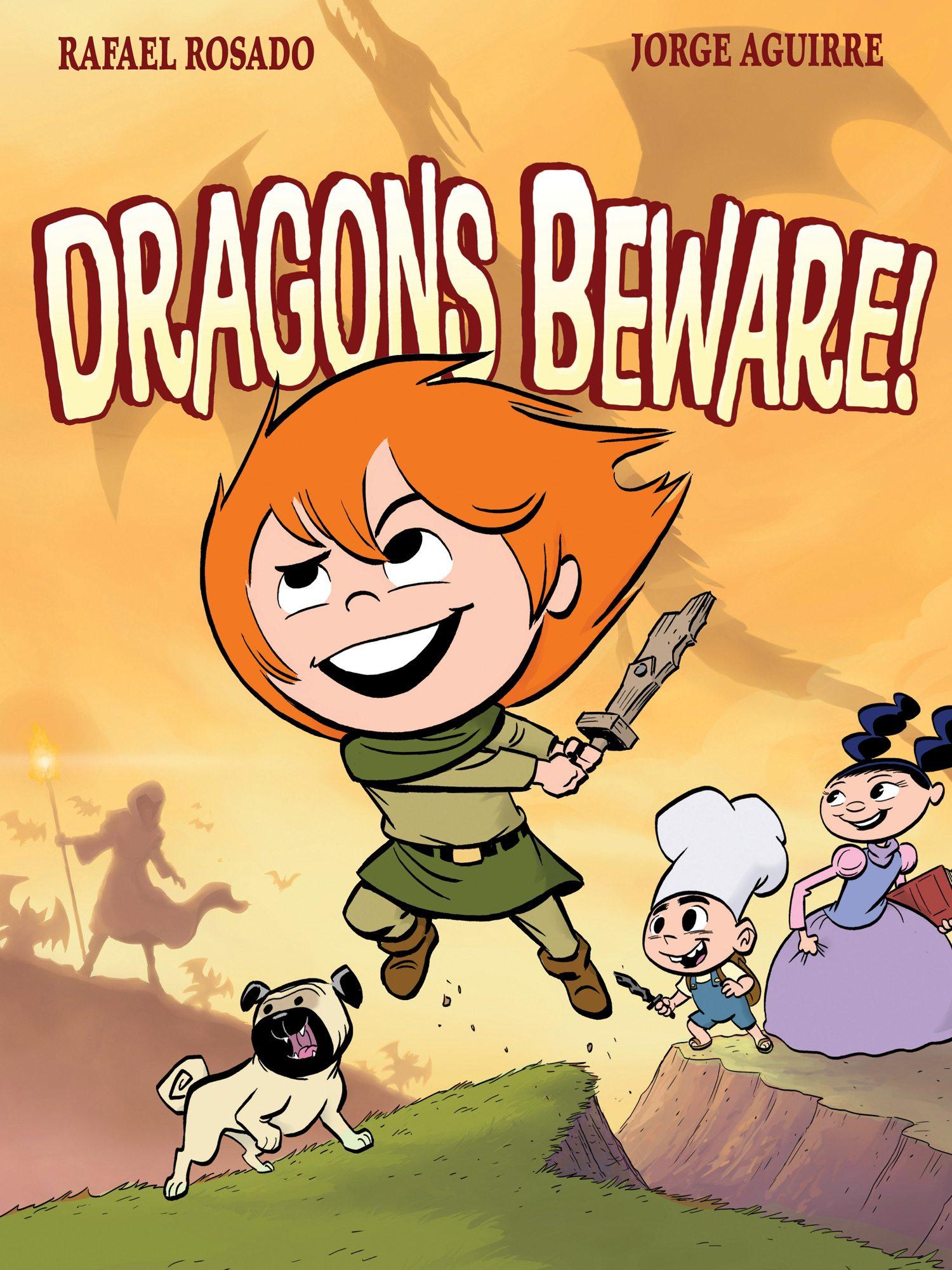 Dragons Beware! cover