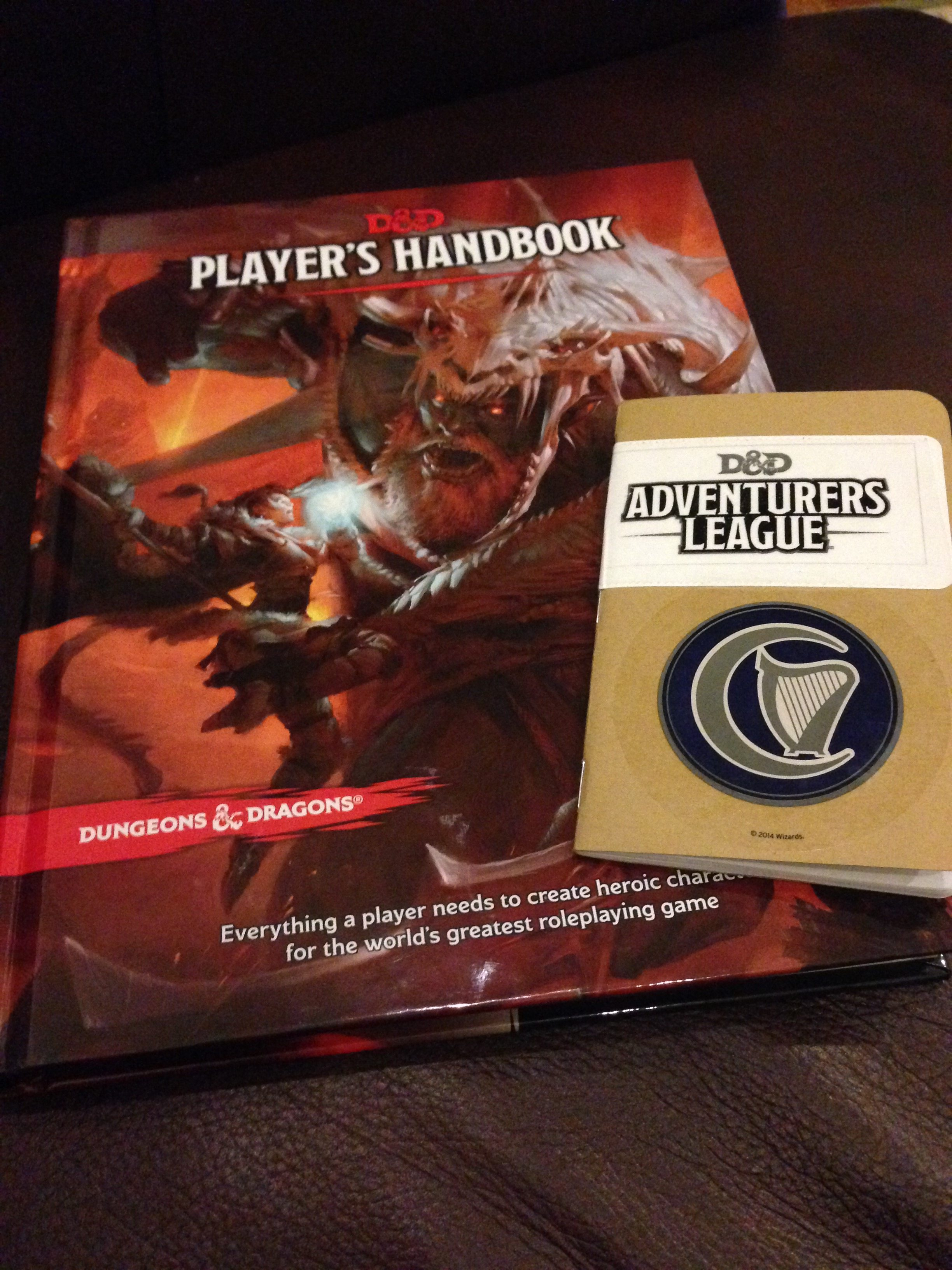 5e Player's Handbook