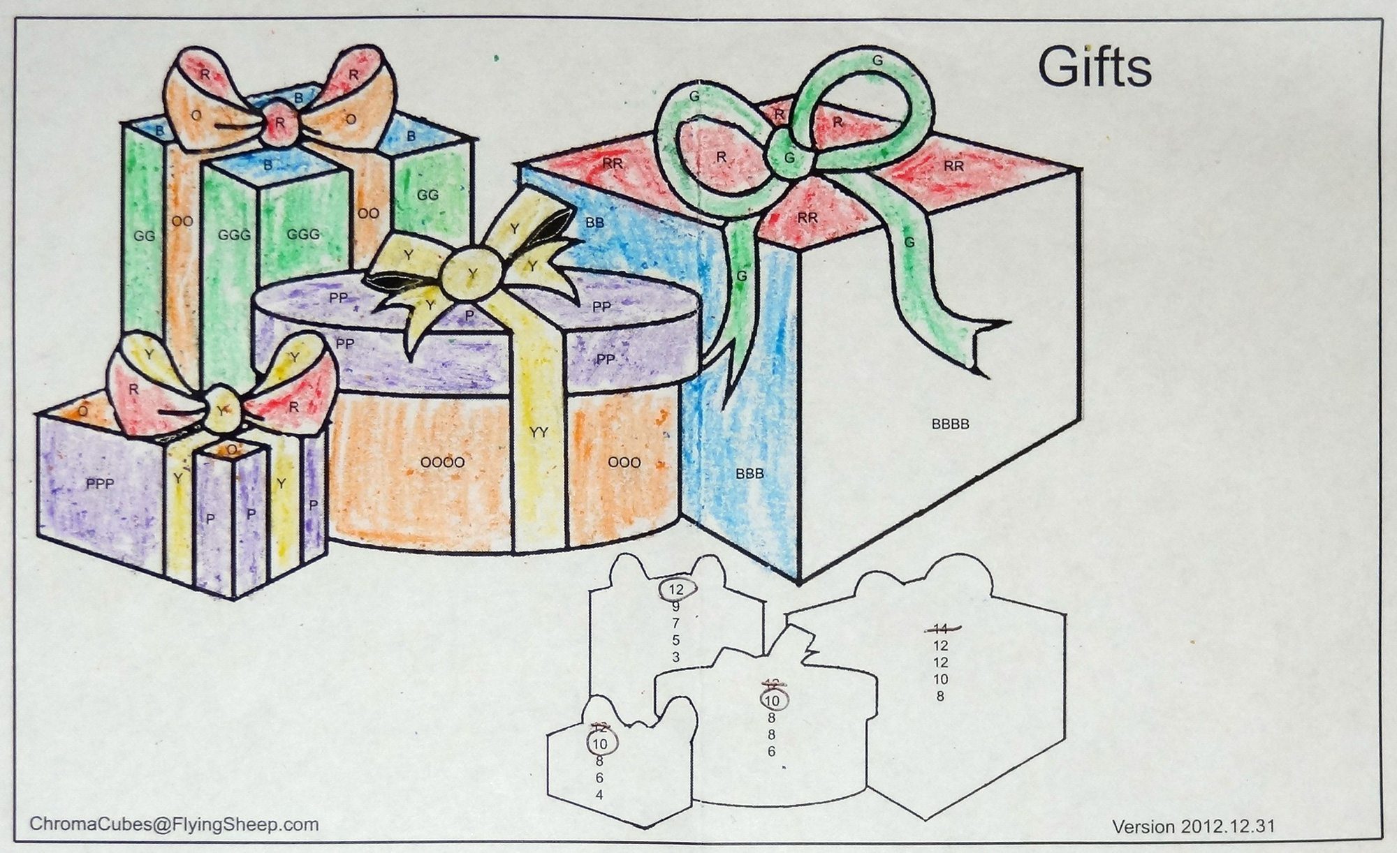 Chroma Cubes gifts