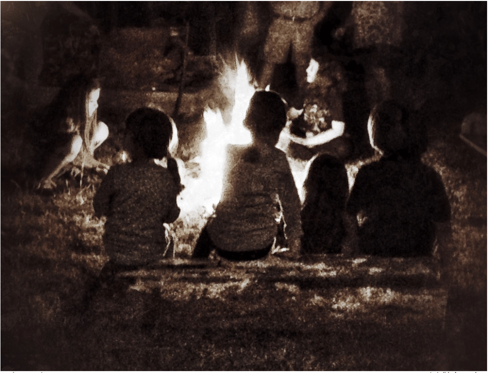 Gather around the bonfire this fall and swap some tall tales. Image by Rick Tate.