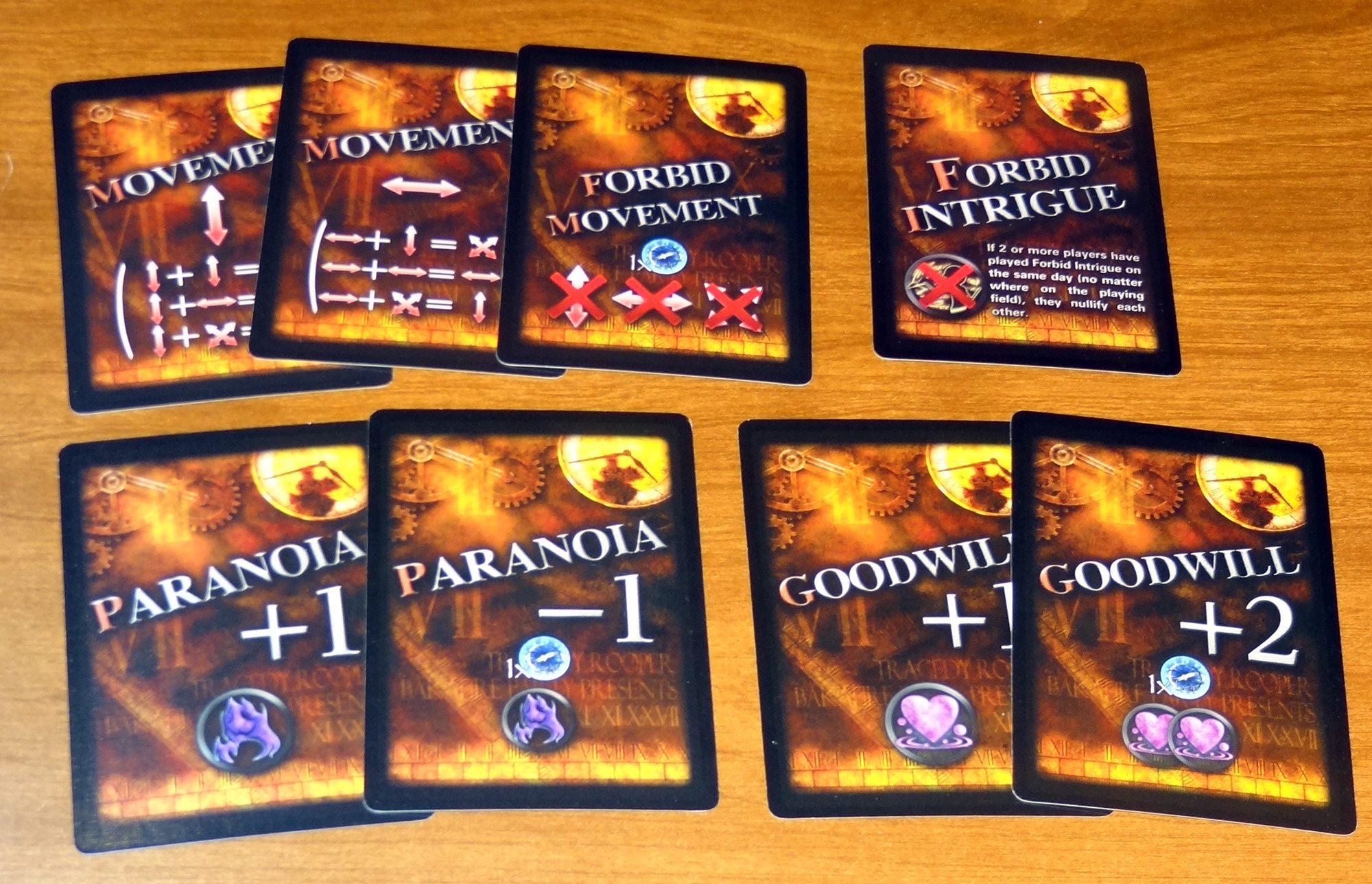 Tragedy Looper Protagonist cards