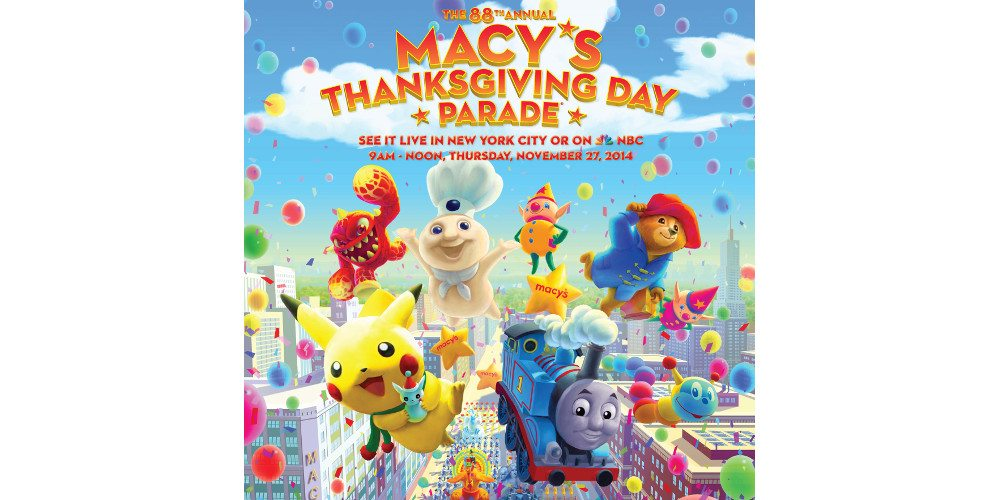 Skylander Eruptor to Appear in Macy's Thanksgiving Day Parade