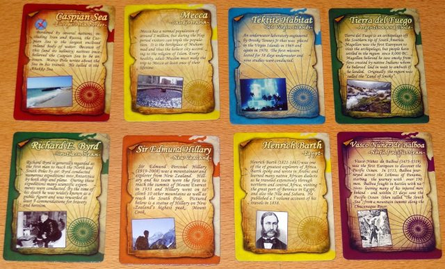 Expedition cards