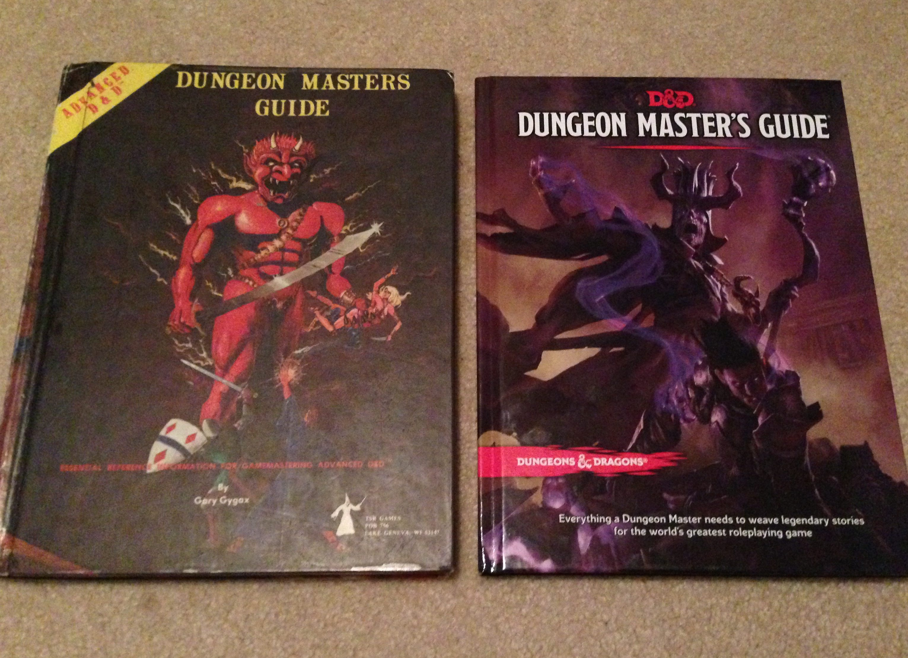 Wizards of the Coast has released its 5th edition Dungeon Master's Guide,  and with that book the trio of books that has formed the basis of Dungeons  ...
