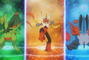 mega evolved starters