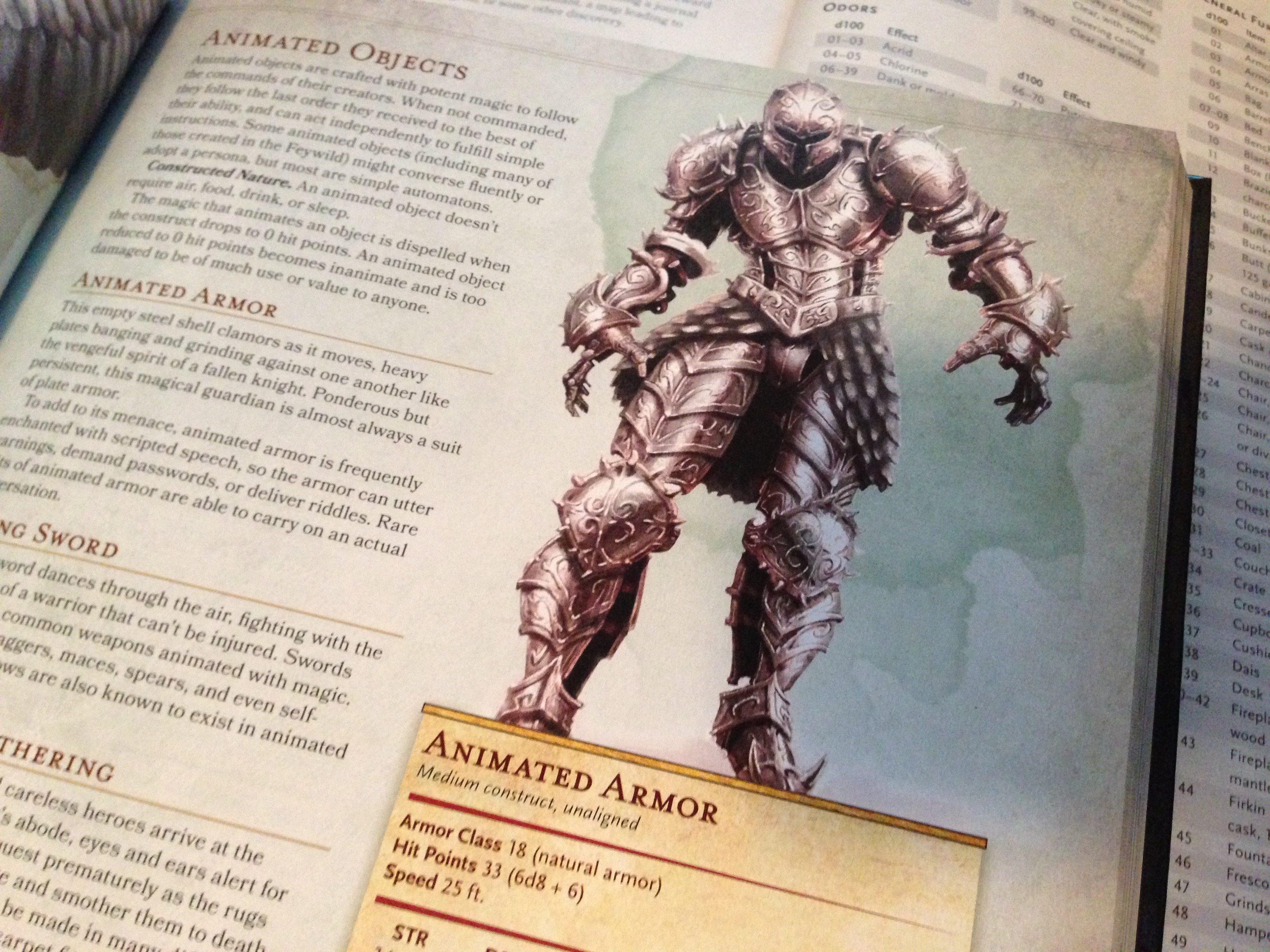 Animated Armor