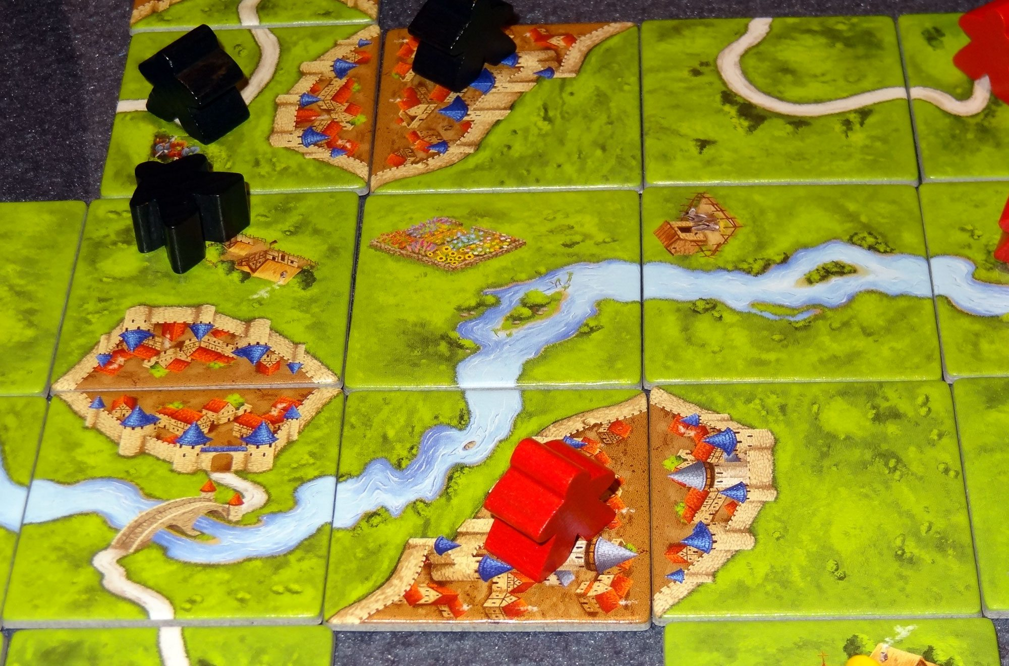 Carcassonne 20 The Classic Tile Laying Game Gets A New Look Geekdad