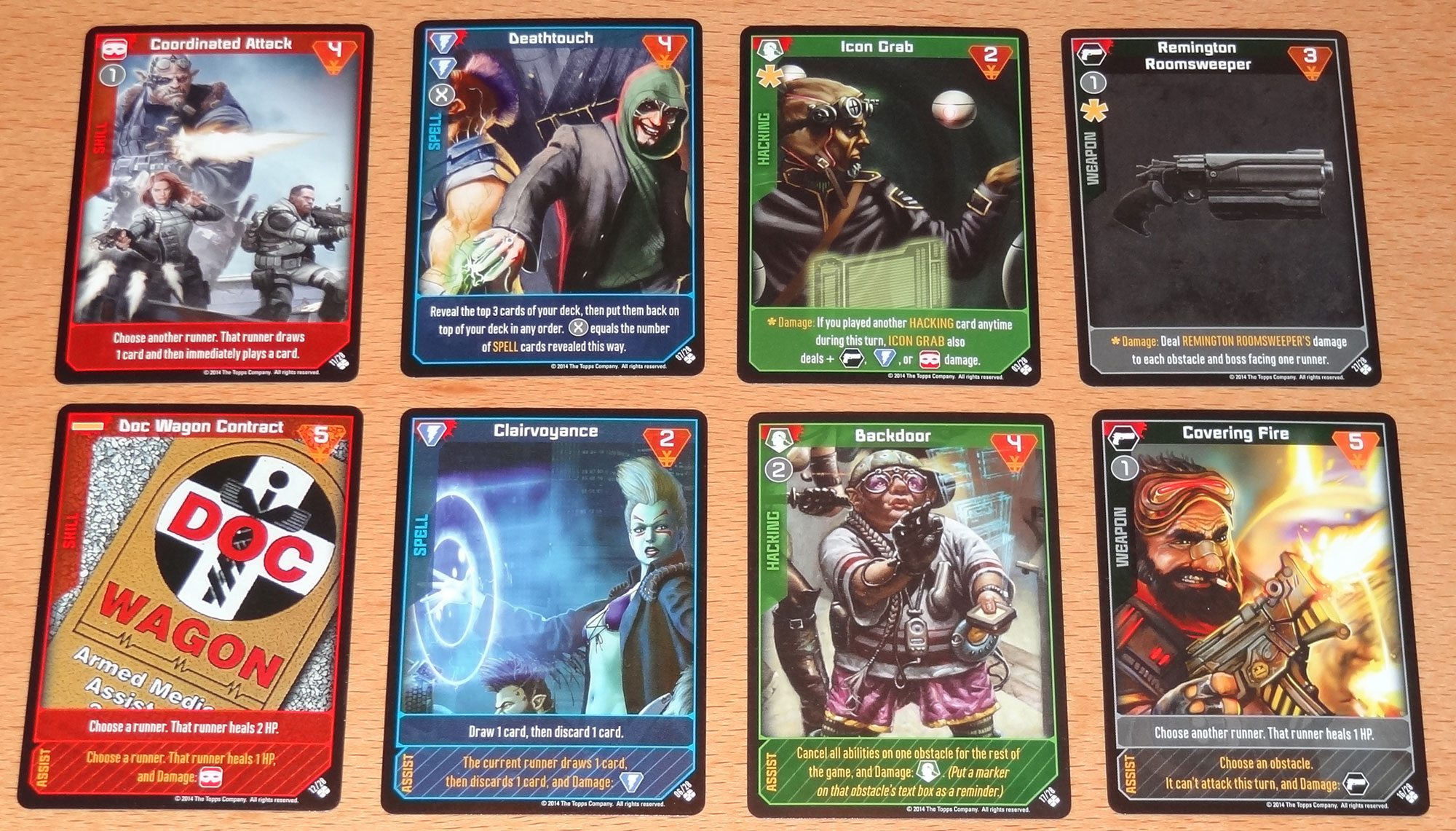 Shadowrun Crossfire Black Market cards