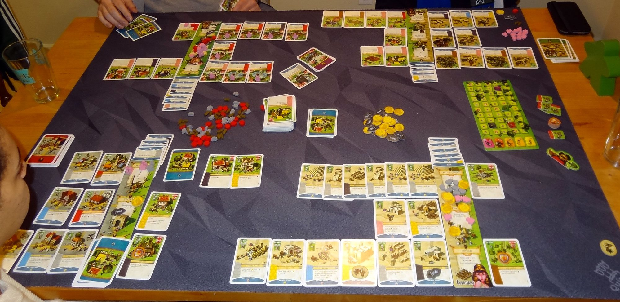 Imperial Settlers four-player