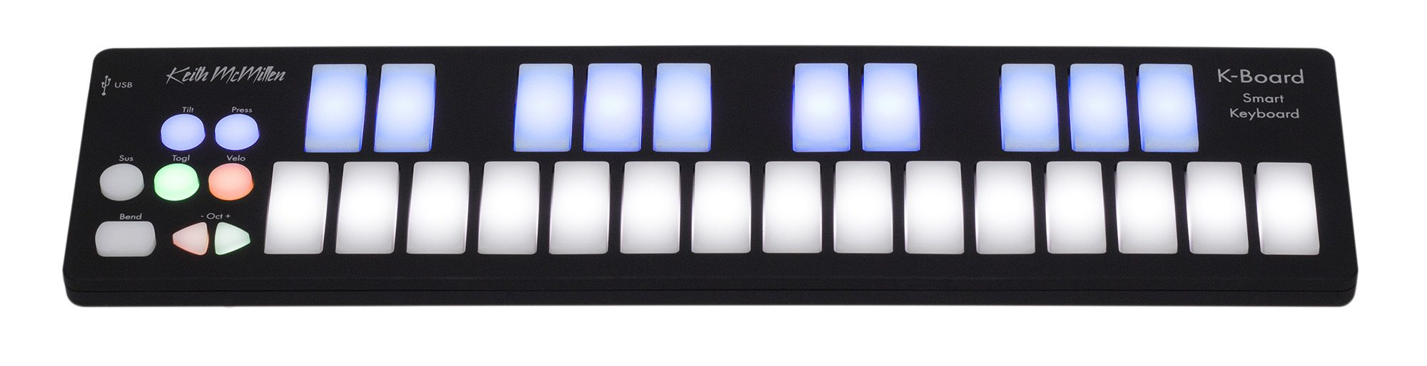 KMI's K-Board USB MIDI Keyboard – Great for Budding Musicians