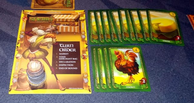 Sheriff of Nottingham Contraband Green Apples Replacement Extra Card Official