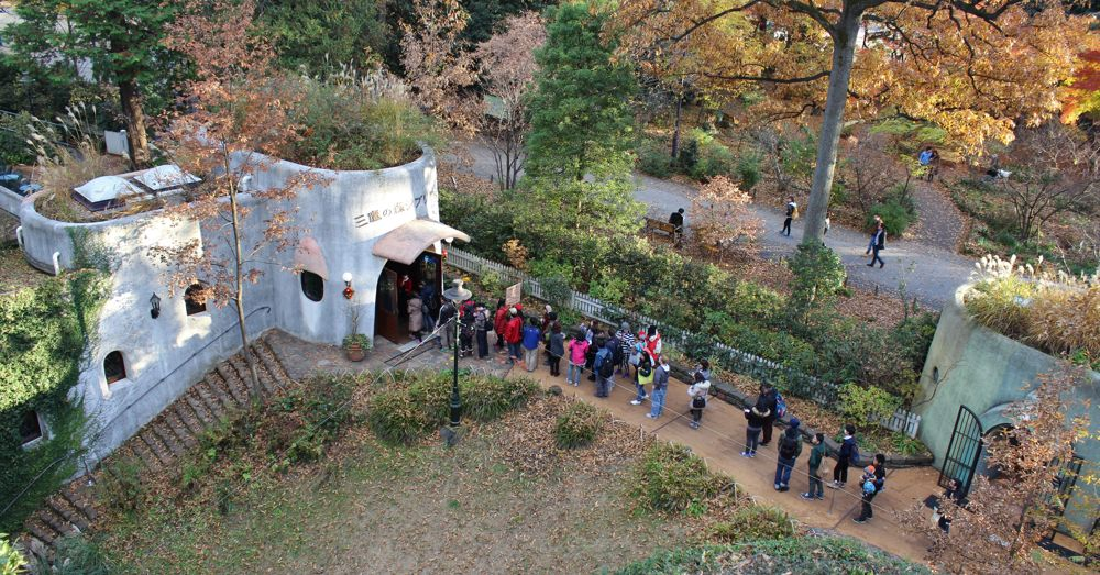 The Line at the Ghibli Museum