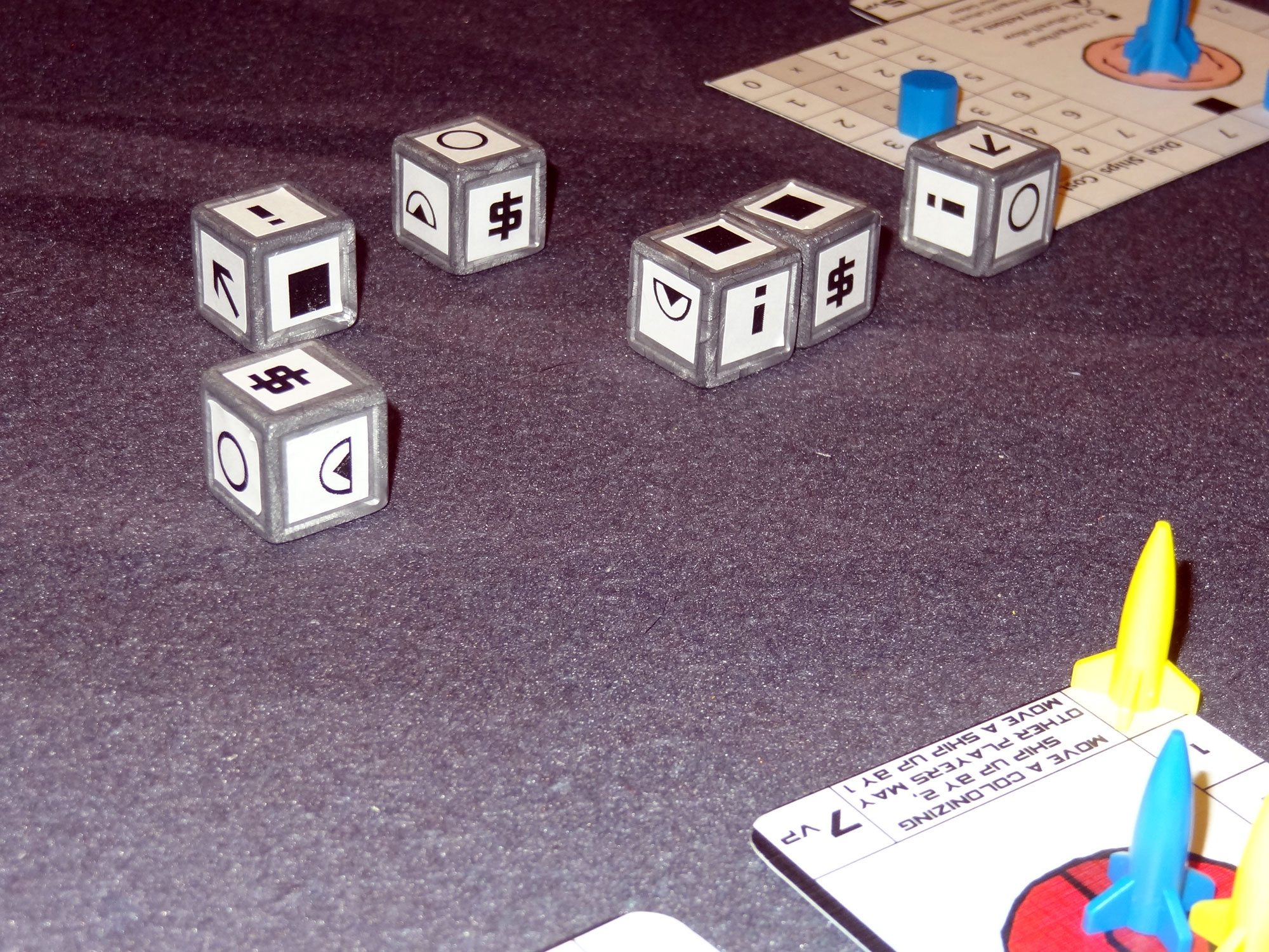 Tiny Epic Galaxies Dice