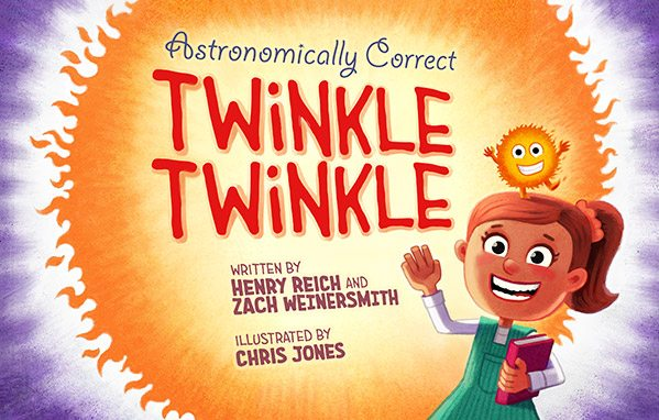 cover art for Astronomically Correct Twinkle Twinkle