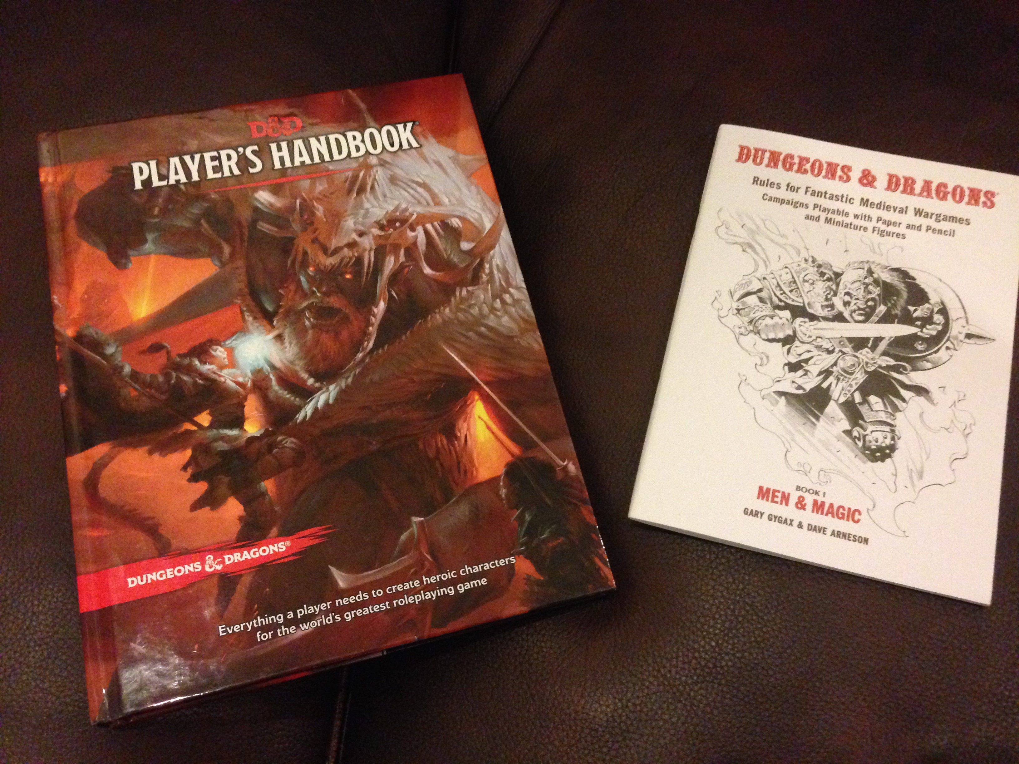 Original 'D&D' and 5th Edition, Some Side-by-Side Comparisons Part I