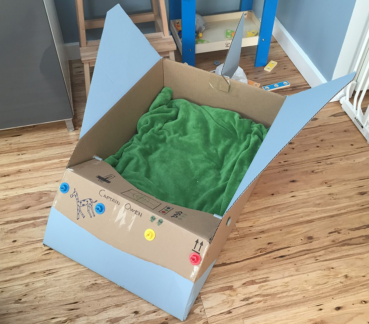 How-To: Cardboard Robots and Rocketships