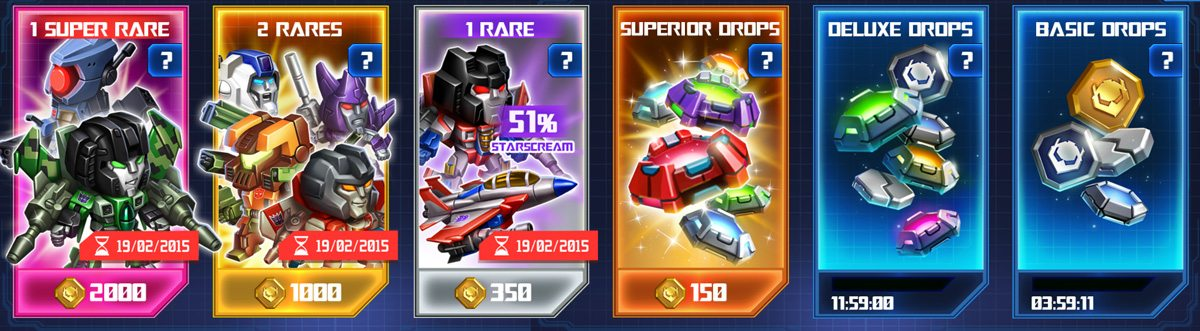Space Bridge with free and purchasable drops