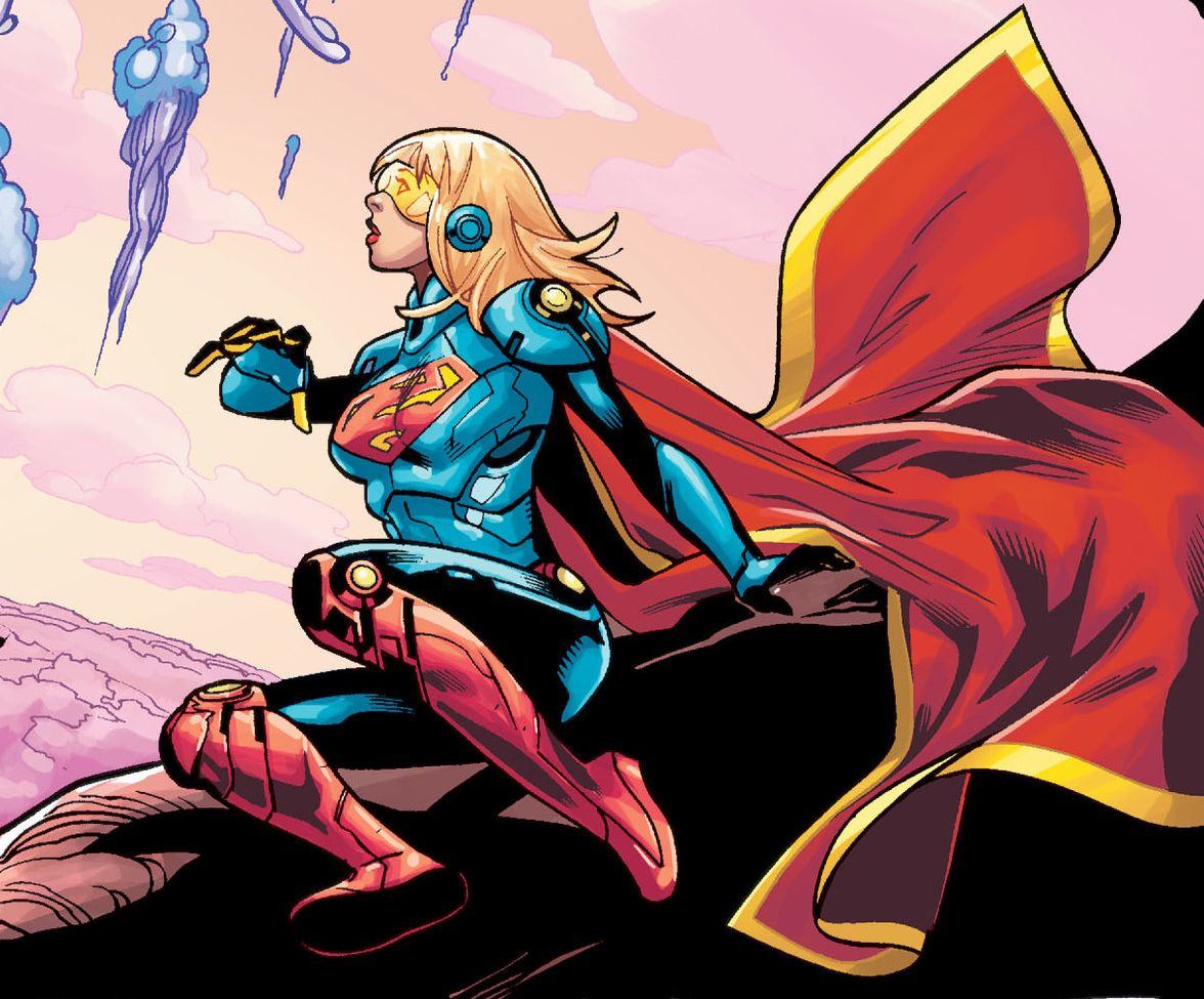 Why is there not a Space Armor Supergirl toy my daughter can buy? WHY? Source: DC.